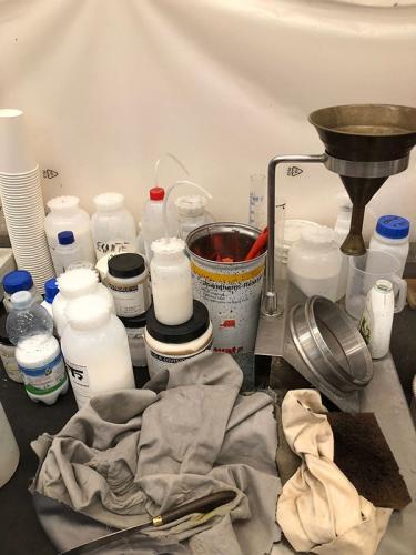Laboratorio spalmatura e resinatura