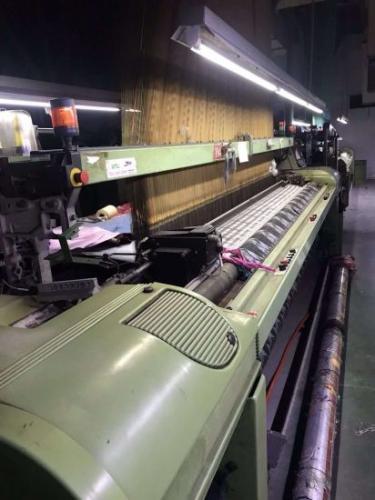 Somet-Thema-11-Excel-Staubli-Jacquard-Loom-340cm-Yom-2004-Running-Weaving-Machinery
